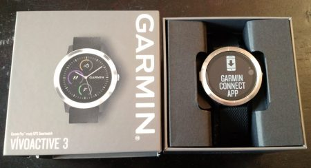 garmin vivoactive 3 boîte