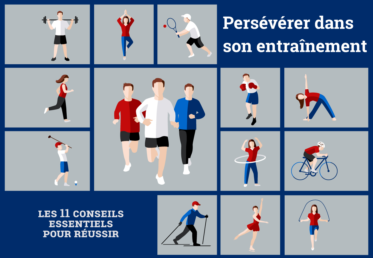 Différents sports